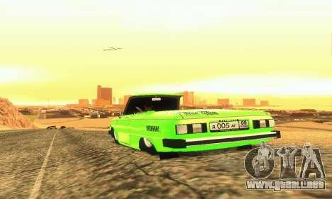 ZAZ 968 Cabriolet Tuning para la visión correcta GTA San Andreas