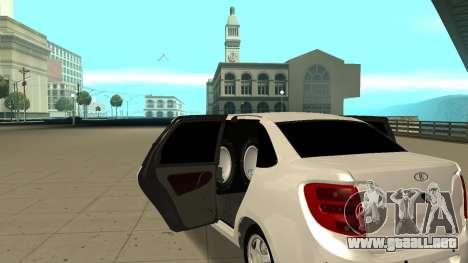 Lada Granta Limousine para la visión correcta GTA San Andreas
