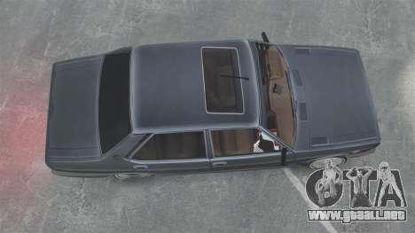 Fiat 131 para GTA 4 visión correcta