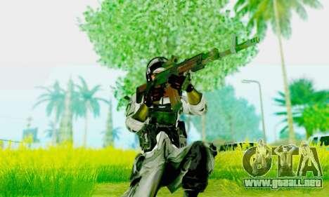 AK-12 del campo de batalla 4 para GTA San Andreas tercera pantalla