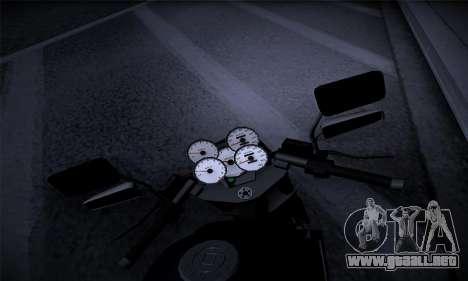 Ducati FCR900 2013 para GTA San Andreas vista hacia atrás