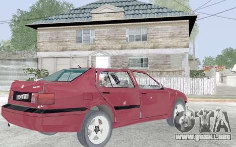 Volkswagen Vento para la vista superior GTA San Andreas