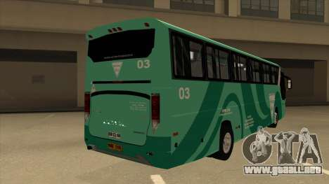 Holiday Bus 03 para la visión correcta GTA San Andreas