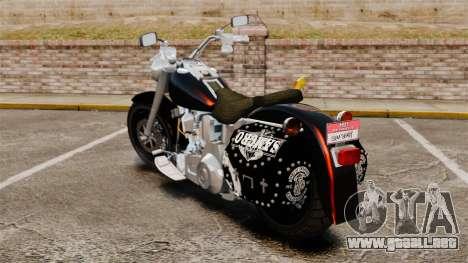 Harley-Davidson para GTA 4 left