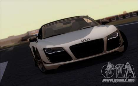 FF TG ICY ENB V2.0 para GTA San Andreas segunda pantalla