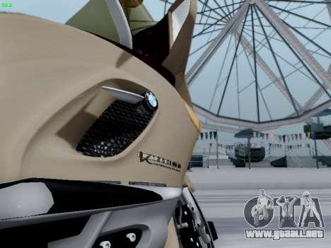 BMW K1200LT para GTA San Andreas vista posterior izquierda