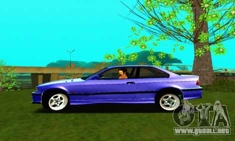BMW E36 Low and Slow para GTA San Andreas left