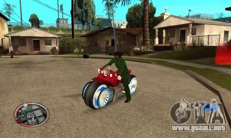 Tadpole Motorcycle para GTA San Andreas