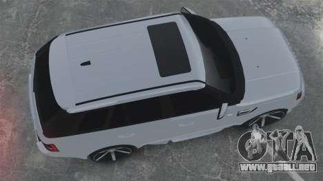 Range Rover Sport Autobiography 2013 Vossen para GTA 4 visión correcta