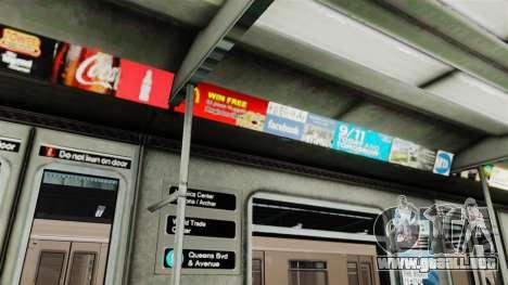 Nuevos vagones para GTA 4 tercera pantalla