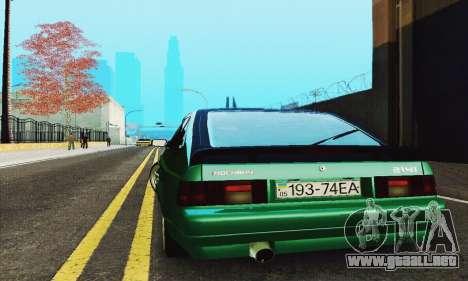 2141 AZLK negro Tuning para visión interna GTA San Andreas