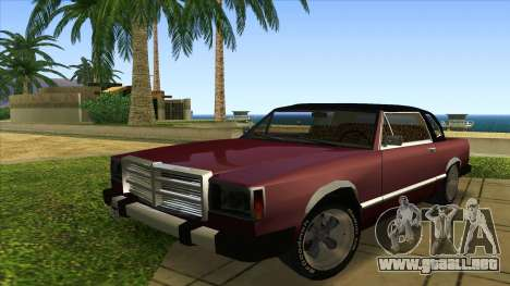 Feltzer C107 coupe para GTA San Andreas left