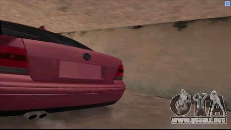 Volkswagen Bora V6 Stance para GTA San Andreas left