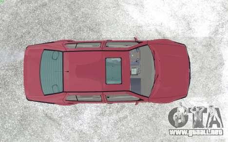 Volkswagen Vento para GTA San Andreas vista hacia atrás