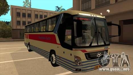 Davao Metro Shuttle 296 para GTA San Andreas left