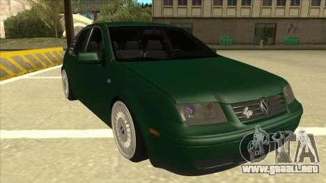 VW Bora para GTA San Andreas left