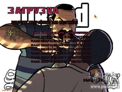 Nuevo menú para GTA San Andreas séptima pantalla