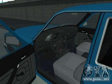 GAS 310221 para GTA San Andreas vista hacia atrás