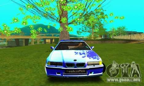 BMW E36 Low and Slow para visión interna GTA San Andreas