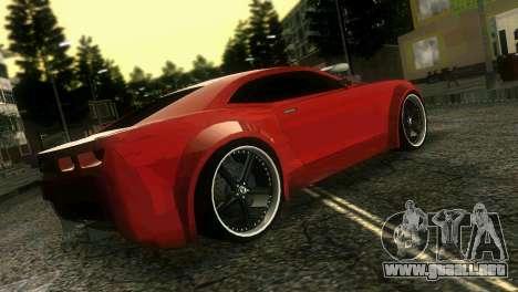 Chevrolet Camaro JR Tuning para GTA Vice City vista lateral izquierdo
