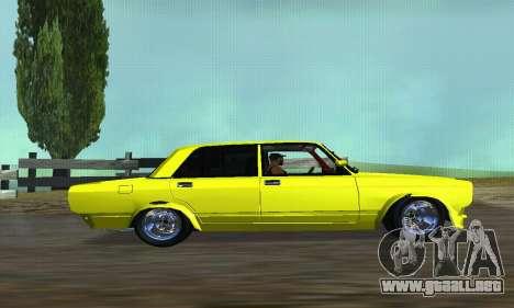 VAZ 2107 VIP para GTA San Andreas left