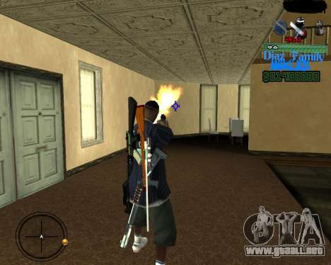 C-Hud for SA:MP para GTA San Andreas