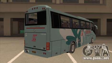 Higer KLQ6129QE - Super Fice Transport S 020 para la visión correcta GTA San Andreas