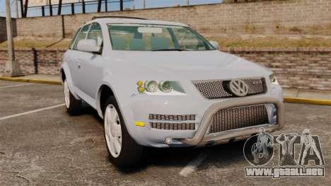 Volkswagen Touareg 2002 para GTA 4