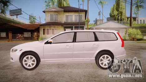 Volvo V70 Unmarked Police para GTA San Andreas left