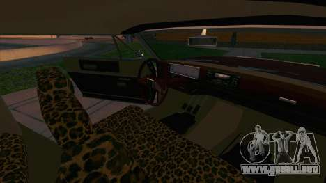 Feltzer C107 coupe para vista lateral GTA San Andreas