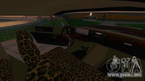 Feltzer C107 coupe para vista lateral GTA San Andreas