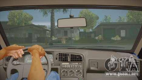 Volkswagen Passat B3 IVLM para visión interna GTA San Andreas