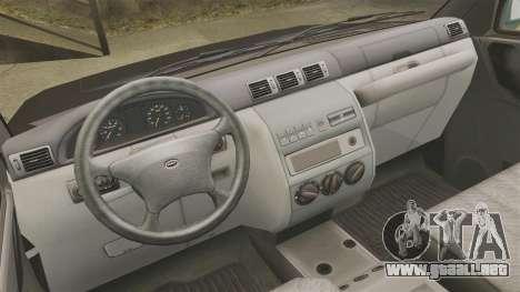 Camioneta UAZ Patriot para GTA 4 vista hacia atrás