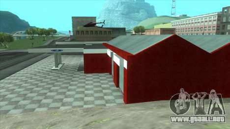 Nuevo garaje en Doherty para GTA San Andreas tercera pantalla