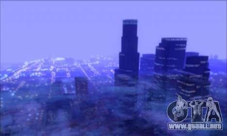 FF TG ICY ENB V1.0 para GTA San Andreas segunda pantalla