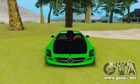 Mercedes SLS AMG 2010 Hamann v2.0 para visión interna GTA San Andreas