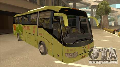 Higer KLQ6129QE - Super Five Transport S 023 para GTA San Andreas left