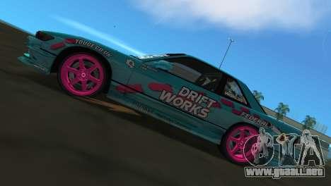 Nissan Silvia S13 Drift Works para GTA Vice City visión correcta
