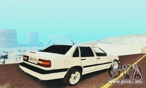 Volvo 850 para GTA San Andreas vista hacia atrás