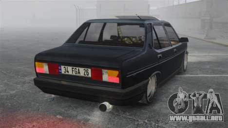 Fiat 131 para GTA 4 Vista posterior izquierda
