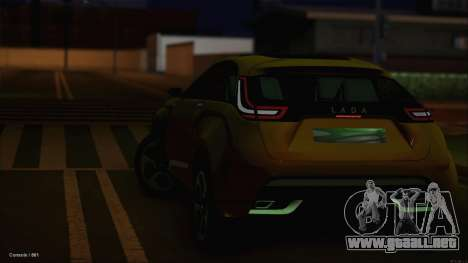 Lada X-Ray para vista lateral GTA San Andreas