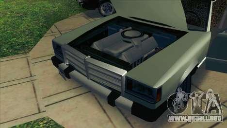 Feltzer C107 coupe para GTA San Andreas vista hacia atrás