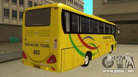 Kinglong XMQ6126Y - Bachelor Tours 463 para la visión correcta GTA San Andreas