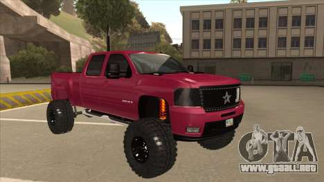 Chevrolet Silverado 2500 Hd RBP 2012 para GTA San Andreas left