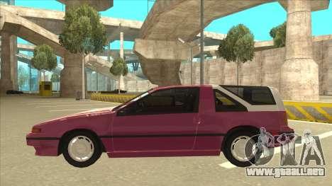 Nissan EXA L.A. Version para el motor de GTA San Andreas
