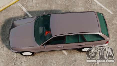 BMW 535 E34 Touring para GTA 4 visión correcta