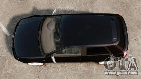 Audi S3 2001 para GTA 4 visión correcta
