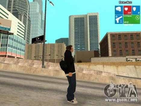 Nuevo KentPaul para GTA San Andreas segunda pantalla