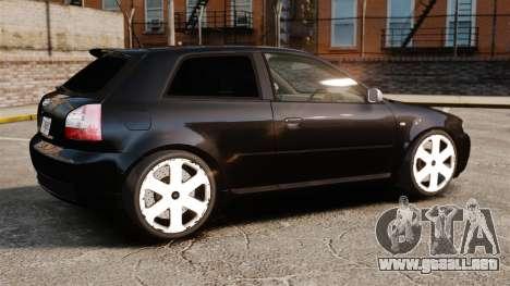 Audi S3 2001 para GTA 4 left