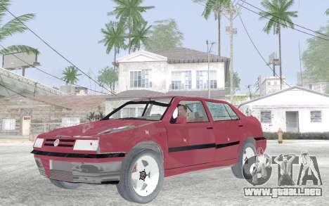 Volkswagen Vento para visión interna GTA San Andreas